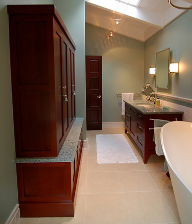 Superieur Fine Custom Bathroom Cabinetry