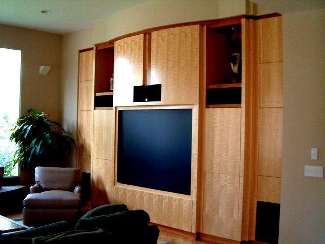 Santa Cruz Custom Entertainment Centers by master cabinet makers ...